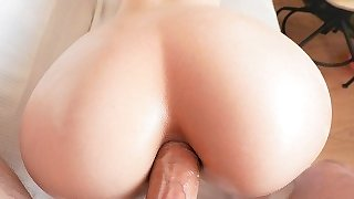 Catgirl anal craving results in creampie + cumshot!